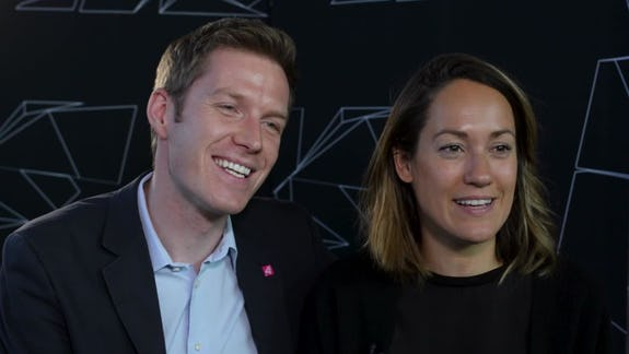 Bianca Schwarzjirg und Florian Danner K.
