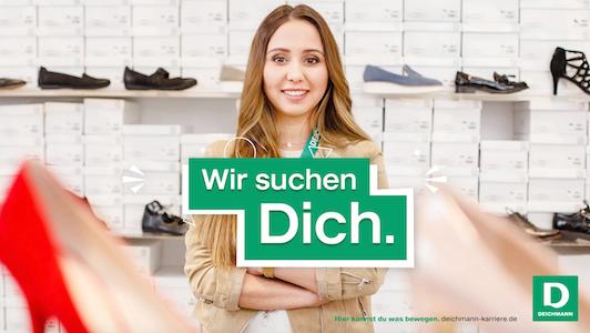 Deichmann: Wir suchen dich!