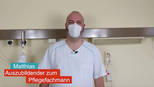 Matthias - Auszubildender Pflegefachmann