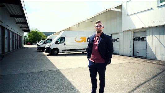 Von der Ausbildung in den Außendienst: Björn ist GLS PaketShop-Beauftragter
