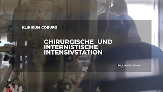 Arbeiten auf der Intensivstation im Klinikum Coburg